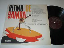 LP/COM SILES E SEU CONJUNTO/RITMO DE SAMBA/Beverly LPCM 4.038 made in Brasil