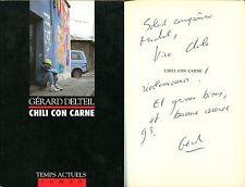 Gérard Delteil - Chili con carne - Envoi - EO 1993