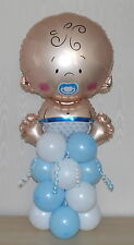 BABY BOY -  BIRTH  -  FOIL -  BALLOON DISPLAY  -  PARTY - TABLE CENTREPIECE
