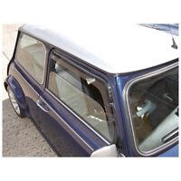 Classic Mini - Wind deflectors for door windows - pair 1959-2000 • NEW • MT9316