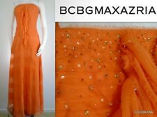 NWT BCBG MAXAZRIA Size 6 Crinkled 100% Silk Corset top  Party/Evening Dress Gown
