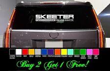"Skeeter 24"" Vinyl Sticker Decal car truck window Pick color! boat trailer + free"