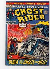 MARVEL SPOTLIGHT #6 - GHOST RIDER ORIGIN ISSUE - CGC IT! VF