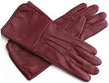 Leather Long Cuff Medieval Gloves Perfect Fit Premium Quality Soft Leather