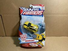 BRAND NEW TRANSFORMERS Animated Bumblebee DELUXE HASBRO FACTORY Sealed MSOC!!