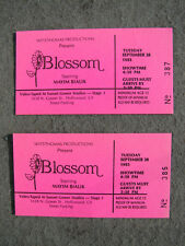 BLOSSOM STARRING MAYIM BIALIK 2 ORIGINAL1993 STUDIO AUDIENCE TICKETS HOLLYWOOD