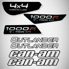 Can am Outlander Renegade XMR Autocollant Sticker BRP