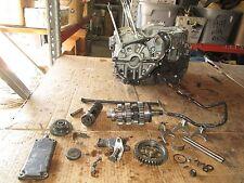 1982 Suzuki GS750 Cam Chain Tensioner Crankcases Main Shaft Shift Drum Parts Lot