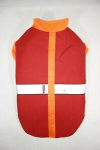 Kong Pet Orange Safety Vest LED Lighted Thermal Fleece Lined Size LARGE