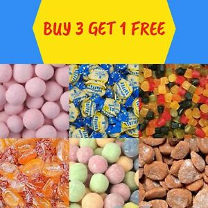 TRADITIONAL SWEETS - RETRO SWEETS - BOILED SWEETS - HUMBUGS - TOFFEES