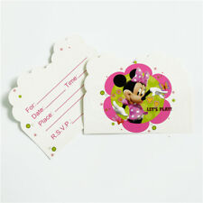 Disney Minnie Mouse Girl Birthday Party Invitations 10 pieces Kids US Seller New