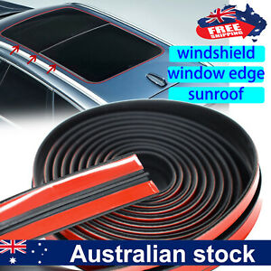4M Car Windshield Sunroof Rear Window Roof Edge Rubber Seal Strip Protector DIY