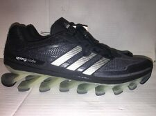 New Adidas Springblade men running shoe drive razor black /Charcoal Gray 13 US