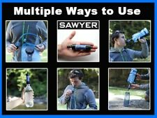 Sawyer EMERGENCY Mini Water Filter Filtration System (New In Sealed Baggie)
