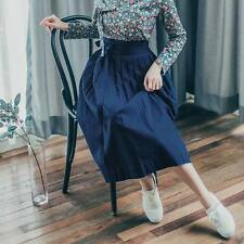 Hanbok Korean Traditional Dress clothes * ONLY SKIRT ( Navy ) free size