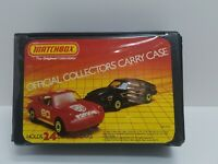 Vintage 1983 Matchbox Official Car Collector's Carry Case Vinyl