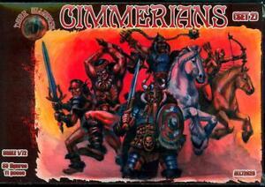 Dark Alliance Figures 1/72 CIMMERIANS Set #2 Figure Set