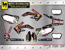 Honda CRf 450X 2005 up to 2014 graphics decals sticker kit Moto StyleMX