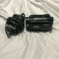 Sony HDR-XR500V (120 GB) Camcorder -  Black Bundle Tested Great Condition
