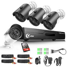 Xvim Hd 1080N 8Ch Hdmi Dvr 1500Tvl Outdoor Cctv Home Security Camera System 1Tb