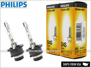 2XPhilips D4S OEM XenEco Headlight Bulbs 42402 for TOYOTA LEXUS Subaru Mazda