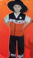 Sheriff Cowboy Sheriffkostüm Kostüm Wilder Westen Fasching Kinder Gr M Halloween