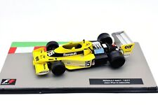 FORMULA 1 UNO F1 SCALA 1/43 RENAULT RS01 MODELLINO AUTO CAR MODEL DIECAST IXO