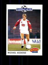 Michael Büskens FC Schalke 04  Panini Action Card 1992-93 + A 183104