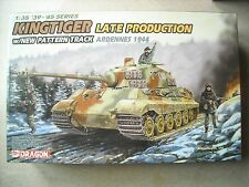 DRAGON 1/35 #6232-'39-'45 SERIES KINGTIGER LATE PRODUCTION W/NEW PATTERN TRACK