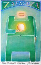 Jean-Michel FOLON - Affiche Copa del Mundo Espana Coupe du Monde Football 1982