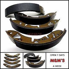 CLASSIC MINI 1959 - 2000 / RELIANT SET OF 4 REAR BRAKE SHOES ALL MODELS