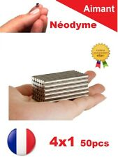 Lot 50 Aimants Puissant Neodyme N35 4 X 1 mm : Photo, Magnet, Fimo, Scrapbooking