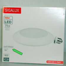 Sigalux Light disk, LED 13 WATT  3000K Soft White, DIMMABLE New
