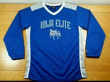 Iowa Elite Basketball 100% Polyester Warm Up Shirt Jersey Size M Men's Medium