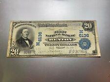 New listing Benton, Illinois 1902 National Note. Charter 6136.