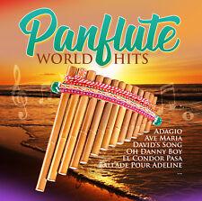 CD Panflute World Hits d'Artistes Divers 2CDs