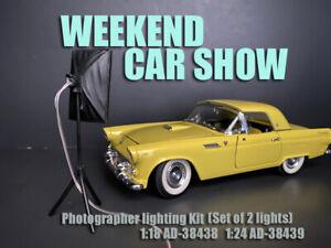 American Diorama Accessory 1:24 Photographer Lighting Kit (Set of 2) - AD-38439
