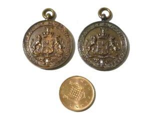 2 x Bronze Medals Plymouth Music Festival B. Hill Elocution 85% 1938 & 1939 #B40