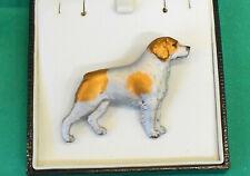 More details for fantastic dog gundog breed brooch pin  - brittany spaniel