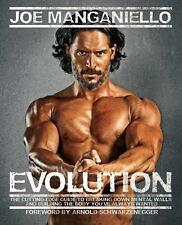 Evolution by Joe Manganiello Arnold Schwarzenegger Bodybuilding Book Paperback