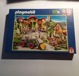 puzzle Playmobil 60 pièces thème ferme