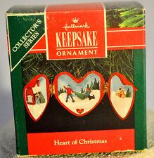 Hallmark - Heart of Christmas - 2nd in Collector's Series - Keepsake Ornament