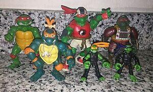 Lot of Vintage Mirage Studios TMNT Action Figures - 1988, 1993, 2003, 2007!