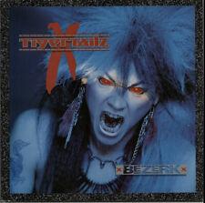 Tigertailz Bezerk UK vinyl LP album record MFN96 MUSIC FOR NATIONS 1990