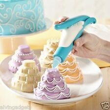 E-Z Deco Icing Pen With Icing Plastic Bags For Cakes Cupcakes & Cookies