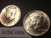 2016 P&D Kennedy Half Dollars Kenedy PD MINT ROLL Clad 50¢ 2 Uncirculated Coins