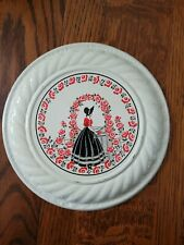 Vintage Victorian Girl Flue Chimney Cover