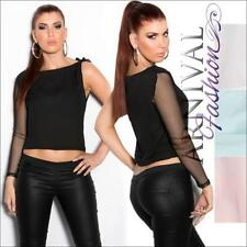 Women's Clubwear Solid Tops & Blouses