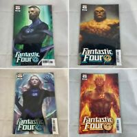 (Lot Of 4) Fantastic Four 1 October 2018 Artgerm Variant Marvel Comics