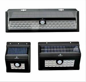 Light SECURITY LED Garden Solar Powered Motion Sensor Outdoor Lamp 8/20/55